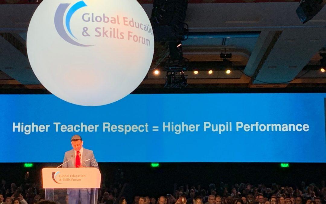 Global Education: teachers on center stage