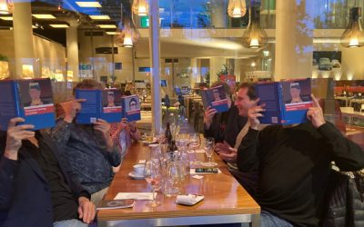 Celebrating the publication of our book