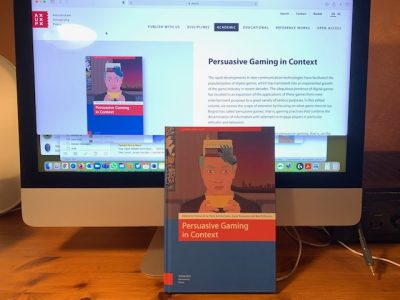 Our Persuasive Gaming book